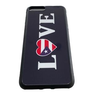 NWOT Puerto Rico IPhone 7 Plus cell phone case